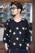 BLACK SIGN/ブラックサイン  「Midnight Star Pull Over Shirt」  プルオーバーシャツ