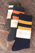 TROPHY CLOTHING/トロフィークロージング  「3 Border Boots Socks」  ブーツソックス