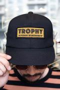 TROPHY CLOTHING/トロフィークロージング  「Superrior Logo Tracker Cap」 トラッカーキャップ