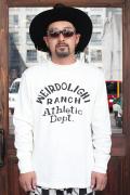 WEIRDO/ウィアード   「WEIRDOLIGHT RANCH -  L/S  T-SHIRTS」   L/S ティーシャツ