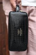 PORTER×GLAD HAND/ポーター×グラッドハンド  「GH - BAGGAGEDOUBLE ZIP BODY BAG」  ダブルジップ レザーボディーバッグ