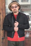 TROPHY CLOTHING/トロフィークロージング  「Blackie Padded Riders jacket」  パデットライダースデニムジャケット