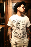 WEIRDO/ウィアード   「MOUSE WEIRDO」   STANLEY MOUSE アートTシャツ