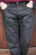 TROPHY CLOTHING/トロフィークロージング   「Blackie  Narrow Pnats」   ダブルニーナロウブラッキーデニム
