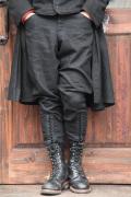 BLACK SIGN/ブラックサイン   「Linen Twill Sheriff Breeches」   リンネジョッパーズパンツ