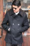 BLACK SIGN/ブラックサイン  「U.S. Navy Melton P-Coat」  U.S.ネイビーメルトンピーコート
