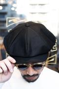 BLACK SIGN/ブラックサイン 「 BS Moleskin Fancy Golf Cap 」 BSモールスキンゴルフキャップ