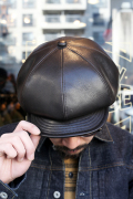 TROPHY CLOTHING/トロフィークロージング  「SteerHide Casquette」  ステアハイドキャスケット