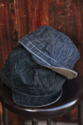 TROPHY CLOTHING/トロフィークロージング 「Dirt Denim Engineer Cap」 ワークキャップ