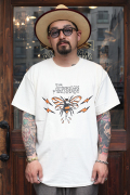 "RUM ART WORKS × AMERICAN WANNABE 「Traditional ""BEE""S/S TEE 」  プリントS/Sティーシャツ"