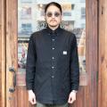 GANGSTERVILLE/ギャングスタービル 「 EASY JACK - L/S B.D. SHIRTS 」 ジャガードボタンダウンシャツ