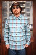 WEIRDO/ウィアード   「CHARLIE - L/S CHECK SHIRTS」  ネルチェックシャツ