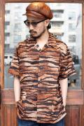 BLACK SIGN/ブラックサイン 「Tiger Pattern Travel Shirt」  タイガーパターントラベルシャツ