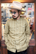 The Stylist Japan/ザスタイリストジャパン 「STAND COLLAR JACQUARD SHIRT」  スタンドカラージャガードシャツ