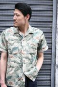 TROPHY CLOTHING/トロフィークロージング  「Sun Rise Leaf Shirts」  リーフシャツ