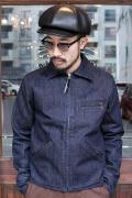 TROPHY CLOTHING/トロフィークロージング  「Indigo Humming Bird Jacket」 インディゴハミングバードジャケット