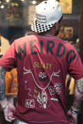 WEIRDO/ウィアード  「ROAD FREAK SLEAZY - S/S T-SHIRTS」  クルーネックティー