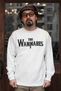 AMERICAN WANNABE/アメリカンワナビー  「WANNABES 12oz CREW SWEAT」  12oz プリントクルースウェット
