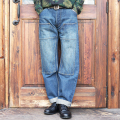 TROPHY CLOTHING/トロフィークロージング  「1606H HERITAGE W Knee STD DIRT DENIM」 スタンダードダブルニーダートダメージデニム