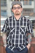 WEIRDO/ウィアード   「ROAD FREAK - S/S SHIRTS」  コットンチェックシャツ