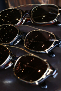 "GLAD HAND×丹羽雅彦 「J-IMMY & CLIP ON GLASSES ""GOLD""」 クリップオン眼鏡"