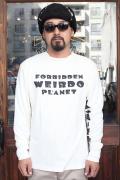 WEIRDO/ウィアード   「WEIRDOPLANET -  L/S  T-SHIRTS」   L/S ティーシャツ