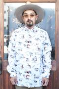 The Stylist Japan/ザスタイリストジャパン 「ALOHA OXFORD BD SHIRT」  アロハオックスフォードシャツ