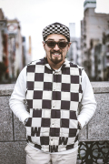 WEIRDO/ウィアード   「CHECKER - DOWN VEST」  チェッカーダウンベスト