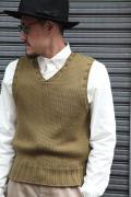 TROPHY CLOTHING/トロフィークロージング  「Red Cross Knit Vest」 レッドクロスベスト