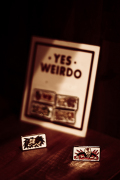 WEIRDO/ウィアード  「BICYCLE PLATES - PINS」  オリジナルピンズセット
