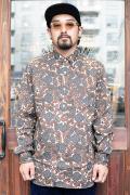 The Stylist Japan/ザスタイリストジャパン 「PAISLEY PT  BD SHIRT」  ペイズリーボタンダウンシャツ
