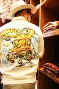 WEIRDO/ウィアード   「MOUSE HOTROD - JACKET」   STANLEY MOUSE エアブラシジャケット