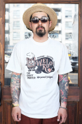 WEIRDO/ウィアード  「WEIRDO FINK CARD - S/S T-SHIRTS」  クルーネックティーシャツ