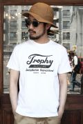 TROPHY CLOTHING/トロフィークロージング  「Trophy Open End Crew Tee」  プリントTシャツ