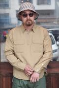 TROPHY CLOTHING/トロフィークロージング  「Logger Half Zip Shirts」  ハーフジップシャツ