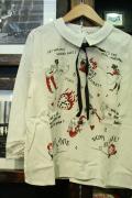 MISS LADYBUG/ミスレディーバグ   「M.L PRINT SH」   プリントシャツ