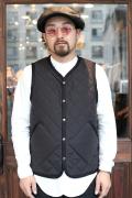TROPHY CLOTHING/トロフィークロージング  SkyLiner Light Vest 」  キルティングベスト