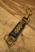 DEXTER 「 Studs Leather Key Ring」 キーリング