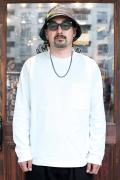 The Stylist Japan/ザスタイリストジャパン 「POCKET LONG SLEEVE CUT AND SEAW 」  コットン L/S ポケットTシャツ