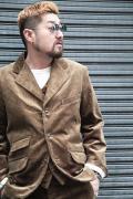 TROPHY CLOTHING/トロフィークロージング  「Brooklyn Code Jacket」  コーデュロイテーラードジャケット