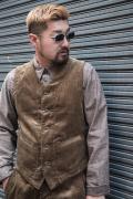TROPHY CLOTHING/トロフィークロージング  「Brooklyn Code Waistcoat」  コーデュロイベスト