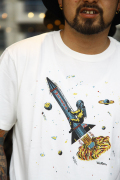 WEIRDO/ウィアード  「PUCARI 1- S/S T-SHIRTS」  プリントTシャツ