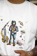 WEIRDO/ウィアード  「PUCARI 2- S/S T-SHIRTS」  プリントTシャツ
