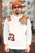 WEIRDO/ウィアード   「RINGING TIGER -  L/S KNIT SWEATER」   ニットセーター