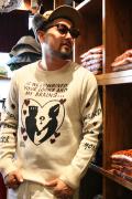WEIRDO/ウィアード   「FUNNY LOVE - SWEATER」  ダブルジャガードセーター