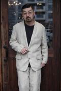 The Stylist Japan/ザスタイリストジャパン 「LINEN Tailored jacket」  リネンテーラードジャケット