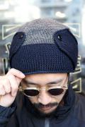 TROPHY CLOTHING/トロフィークロージング 「 Tim's Cap 」 ツートンニットキャップ