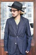 The Stylist Japan/ザスタイリストジャパン 「KAIHARA 9oz DENIM JACKET」 デニムテーパードジャケット