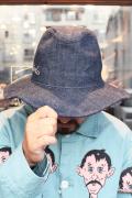 WEIRDO/ウィアード 「WEIRDOLIGHT RANCH - DENIM HAT」  デニムハット