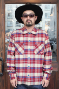 WEIRDO/ウィアード   「HEART OF WEIRDO - L/S CHECK SHIRTS」   TC L/Sシャツ
